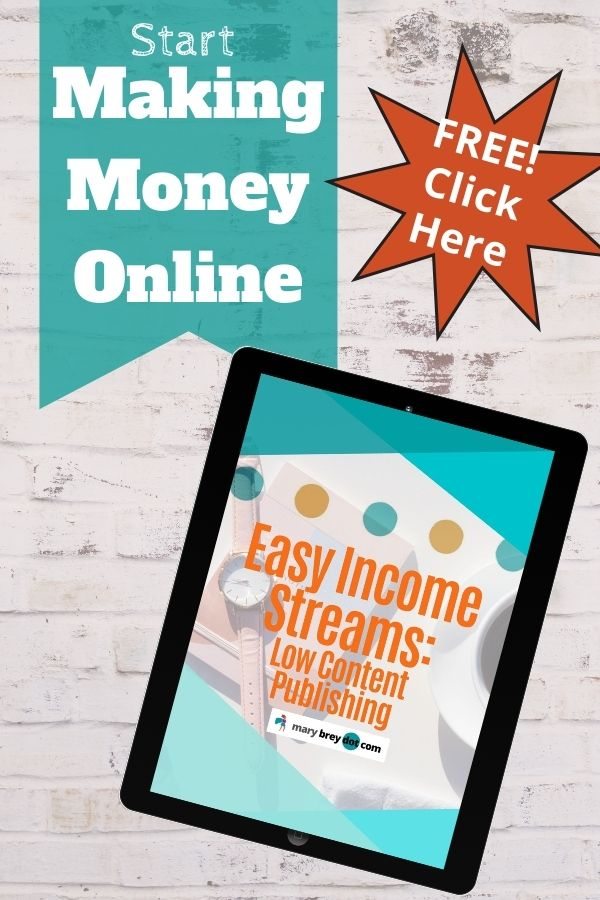 image of ebook Easy Income Streams: low content publishing
