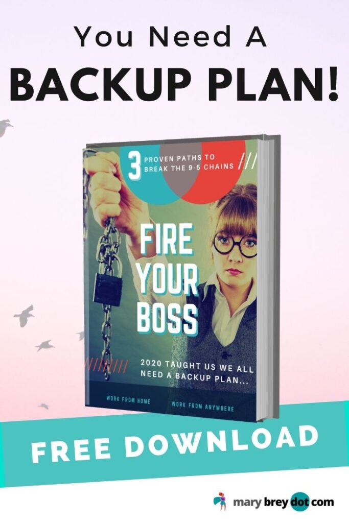 You Need a Backup Plan free ebook Fire Your Boss