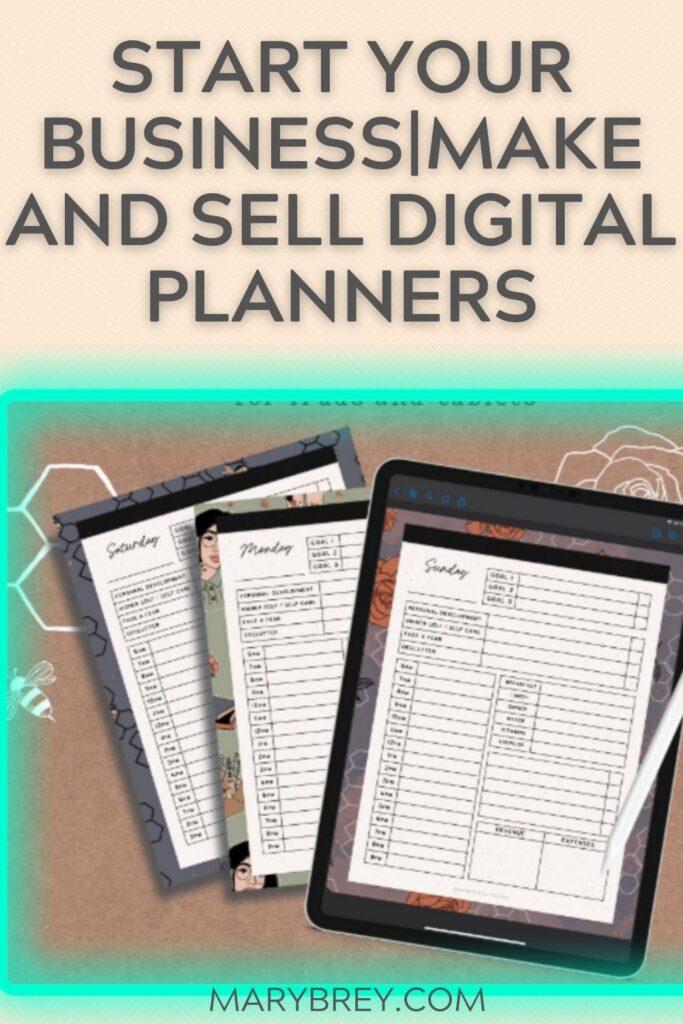 image of digital planner