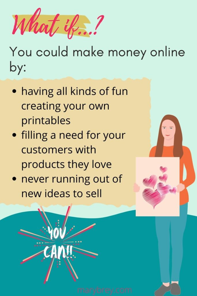 Create and Sell Printables online