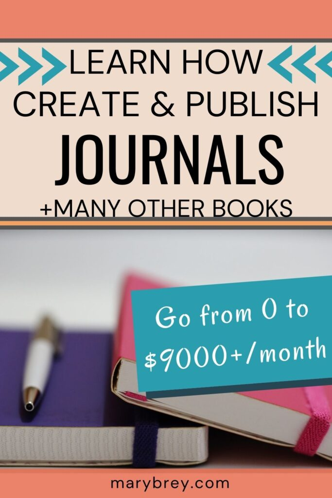 learn to create and publsih low content books