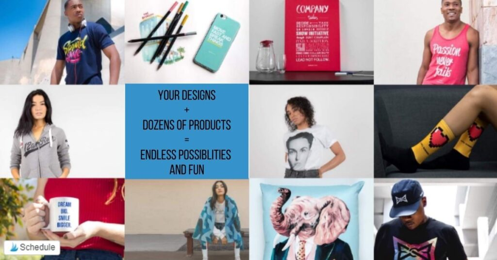 examples of print on demand products