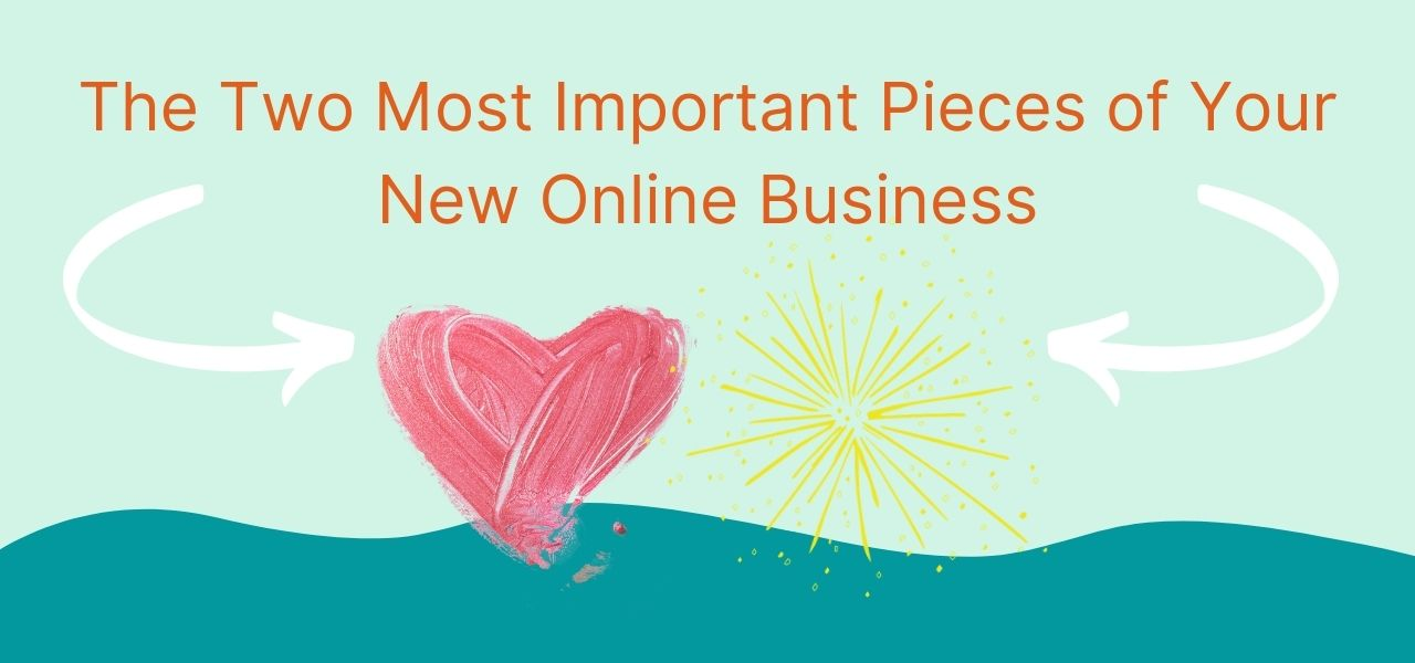 there are lots of options for starting an online business but first you need to realize that you need to start with your heart and sparks of joy