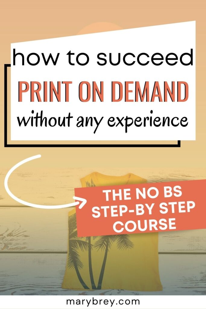 how to succeed print on demand without any experience