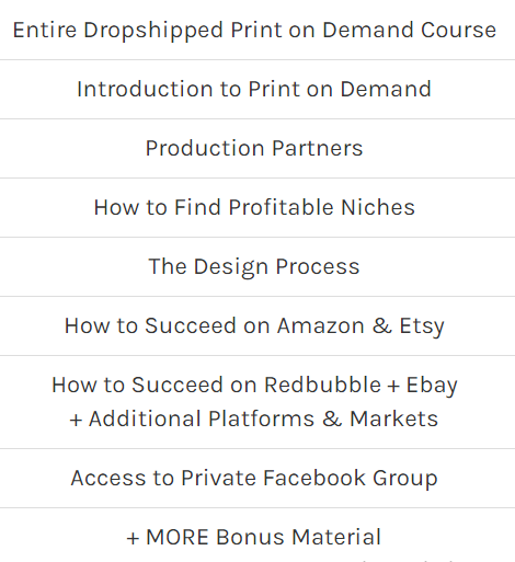 all you need to start a print on demand business
