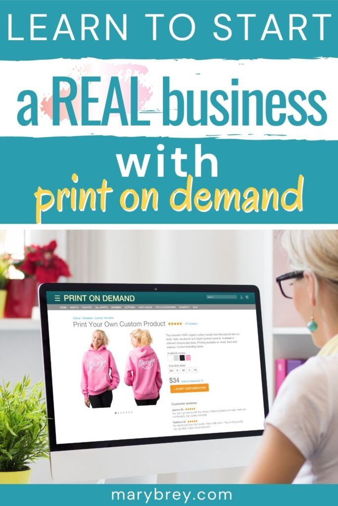 learn to start a real business with print on demand