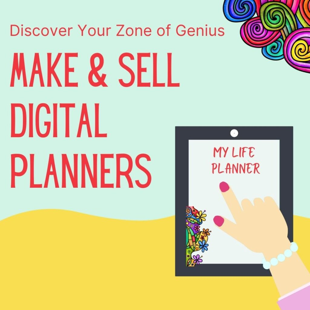 make and sell digital planners