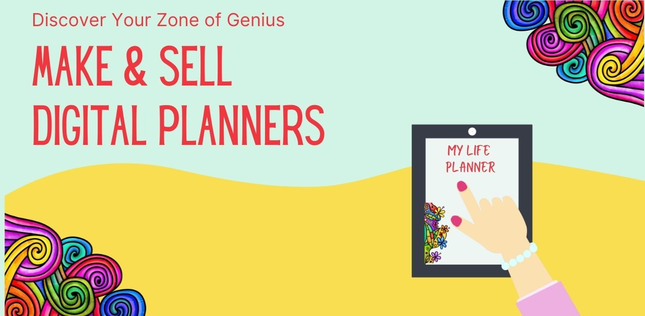create and sell digital planners