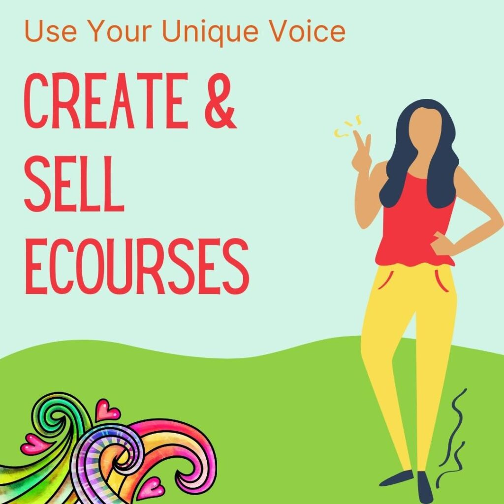 create and sell ecourses