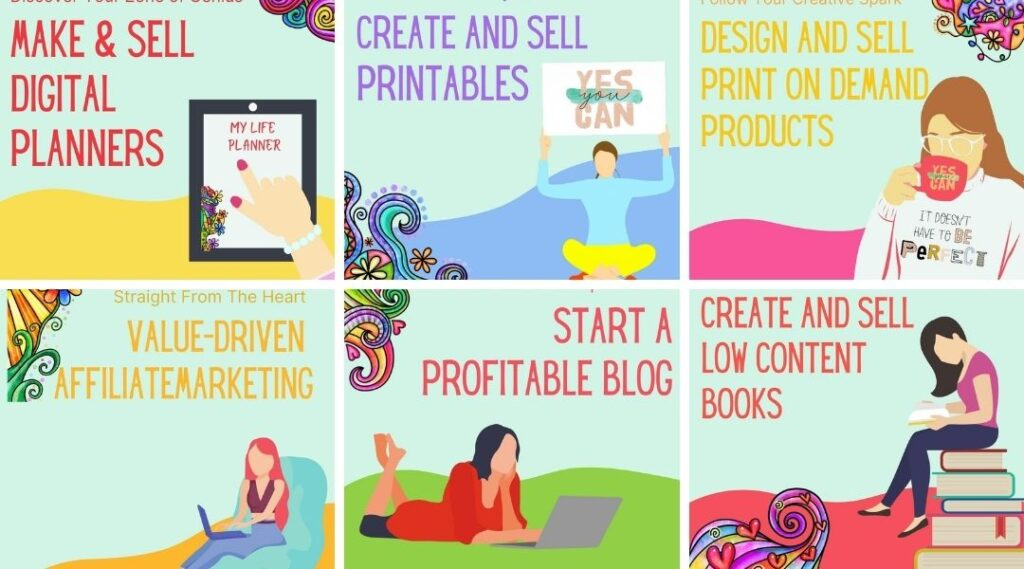 best options for starting your online business with heart and soul